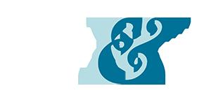 BW logo - white